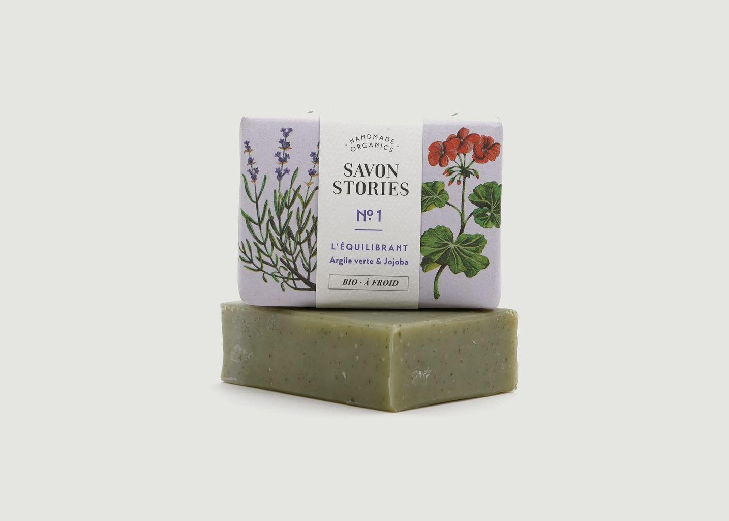 Savon Bio N°1 à l'argile verte - Savon Stories