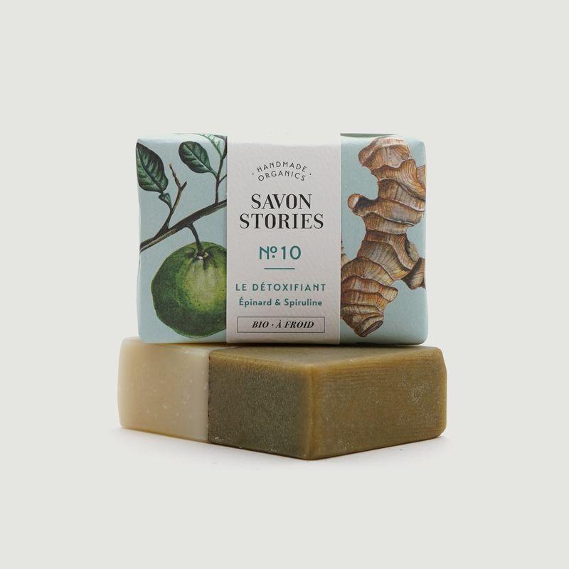Savon Épinards et Spiruline - Savon Stories