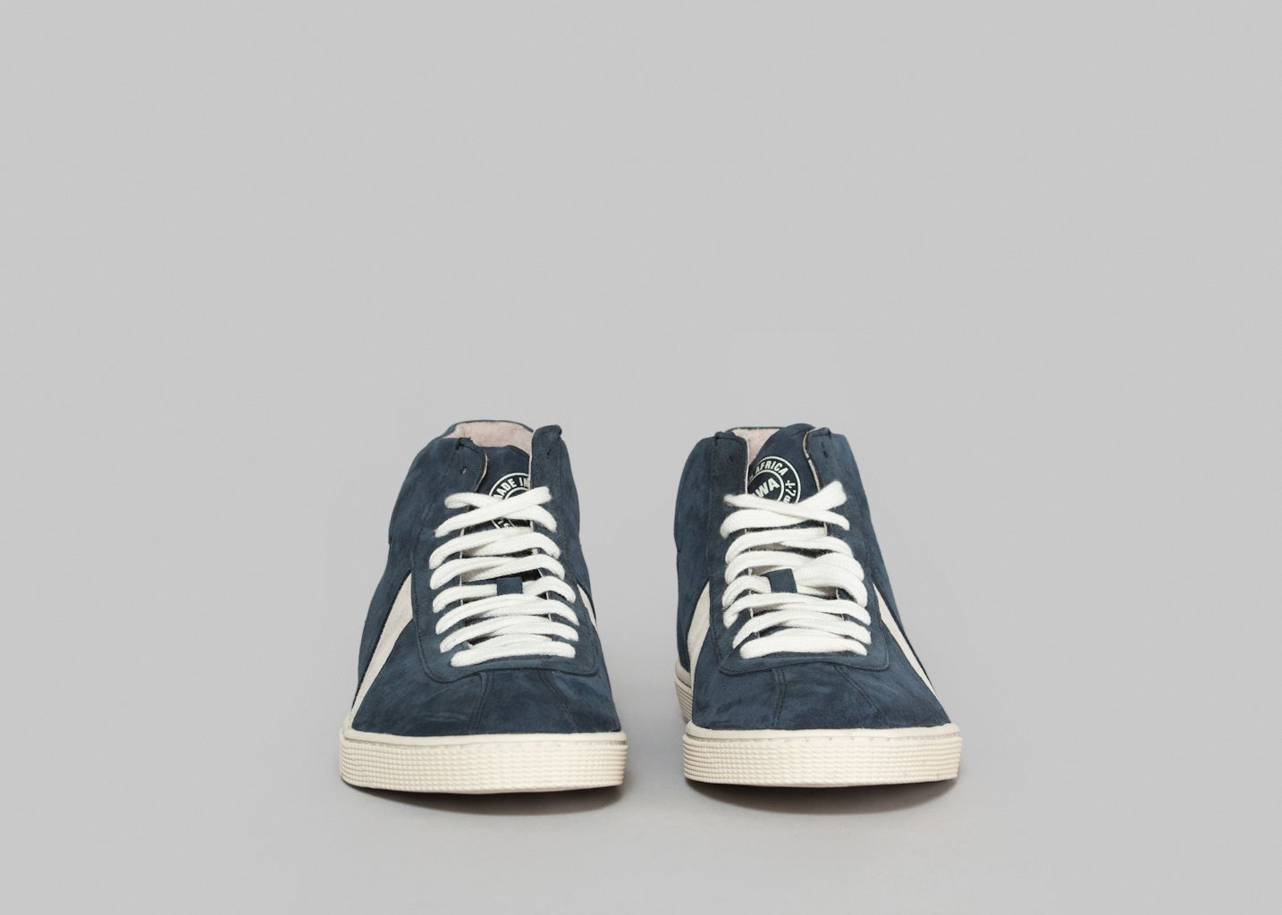 Lishan Suede Premium Sneakers Sawa Navy Blue L'Exception