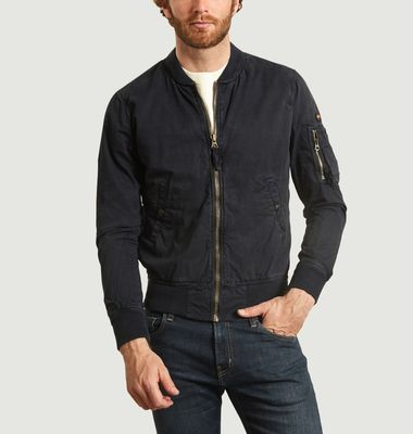 Clay cotton bomber jacket