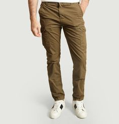 Olimpo 70 cargo trousers