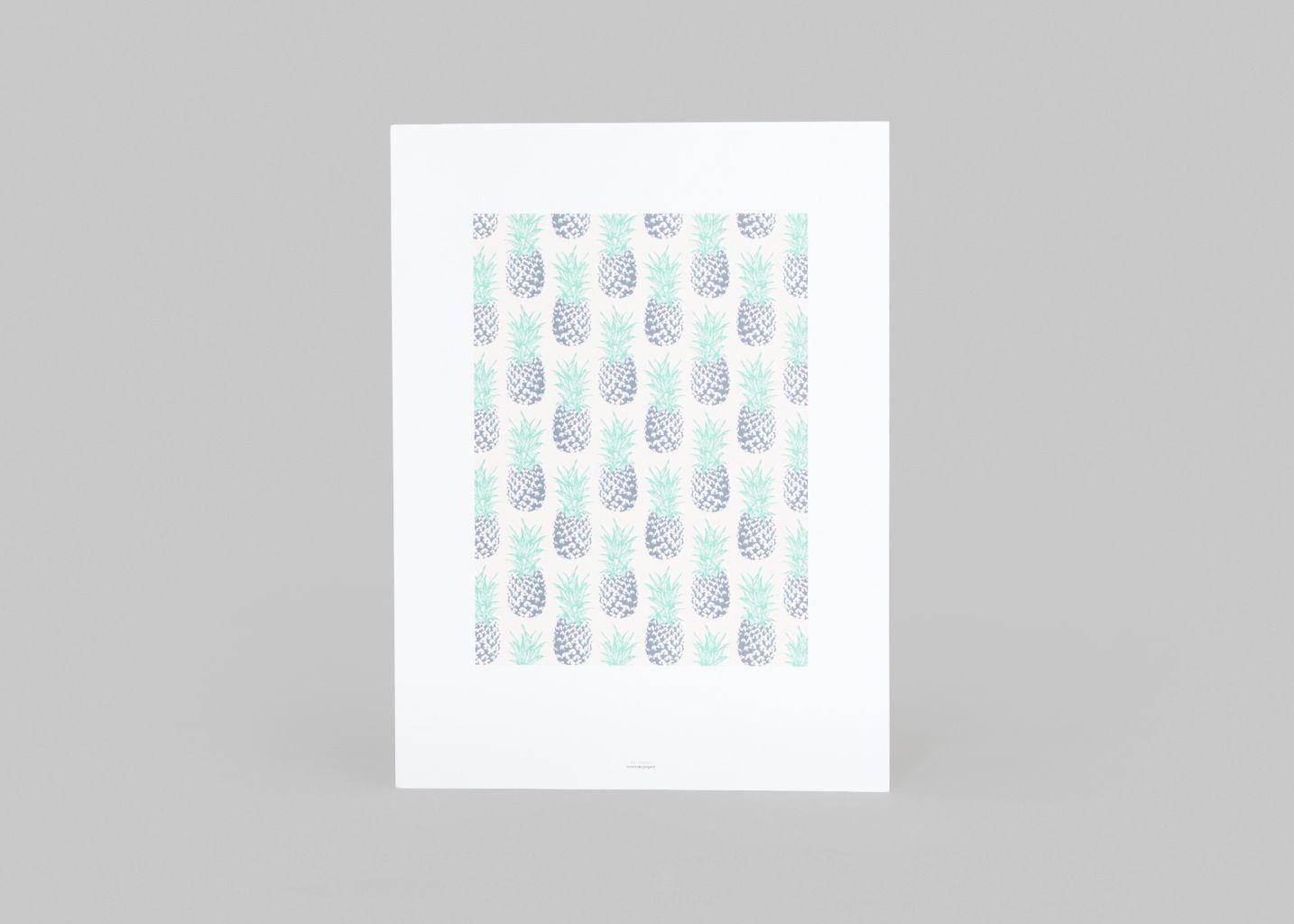 Affiche Les Ananas  - Season Paper