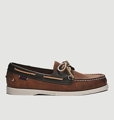 Chaussures bateau en cuir Portland