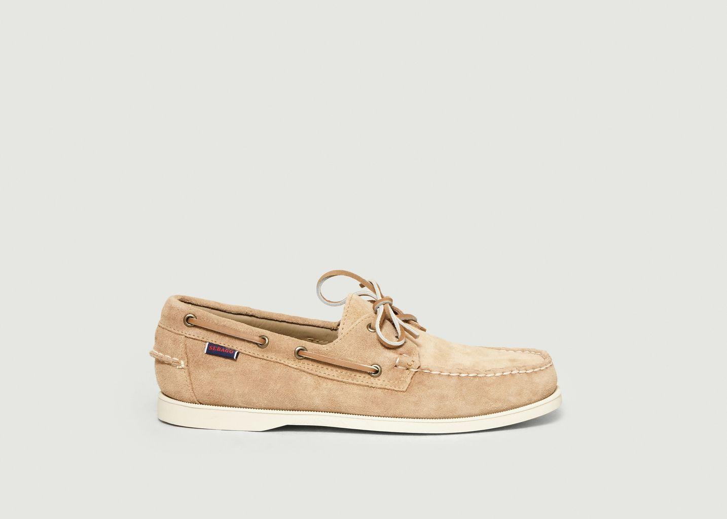 Chaussures bateau en daim Portland - Sebago