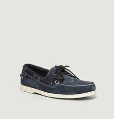 Chaussures bateau en daim Portland