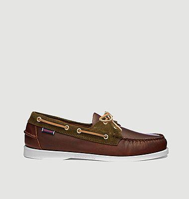 Chaussures bateau Portland bi-matière
