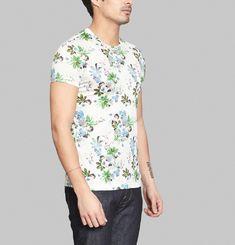 T-Shirt Basic Fleurs