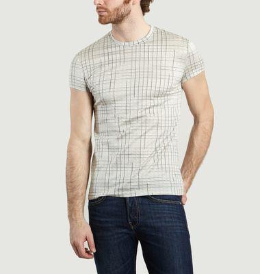 T-Shirt Basic Carreaux