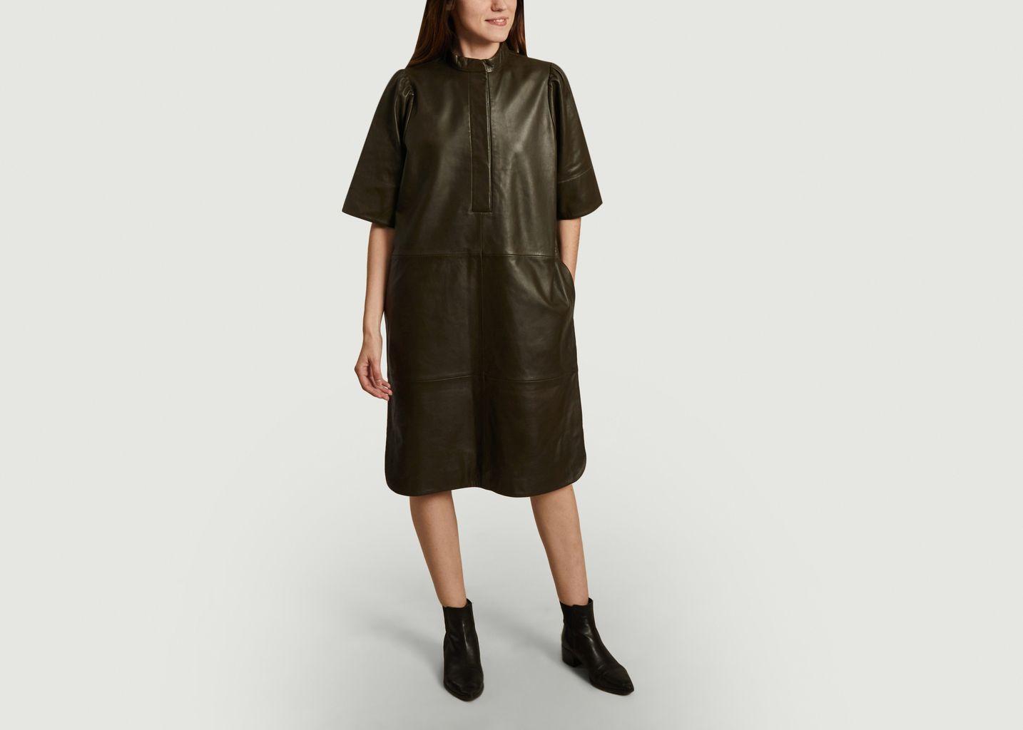 Robe en cuir Indie - Second Female