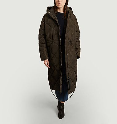 Buffie long down jacket