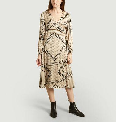 Robe Portefeuille Isa Imprimé Géométrique