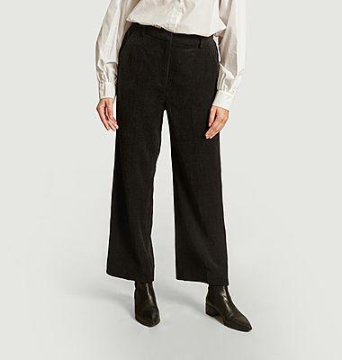 Pantalon ample en velours côtelé Boyas