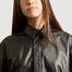 matière Robe midi en cuir Indie - Second Female