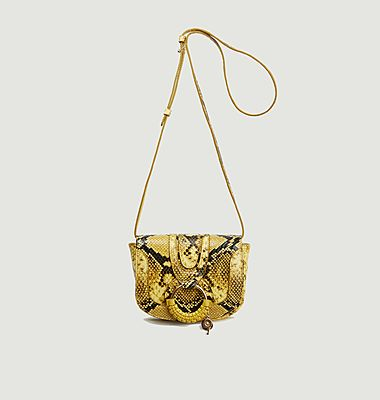 Hana Mini snake effect leather bag