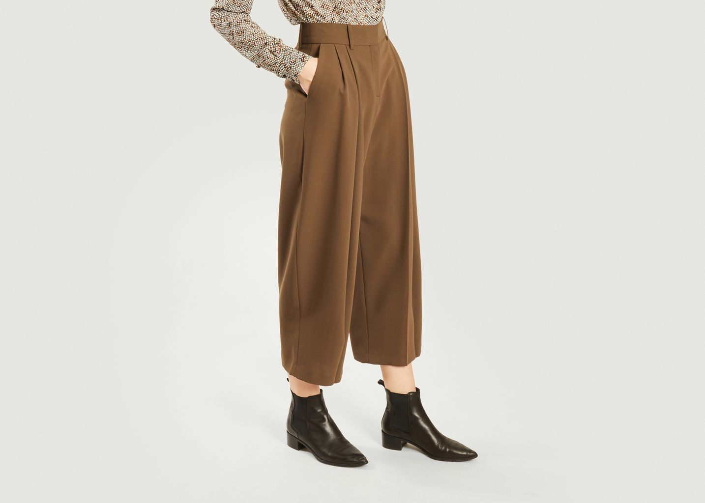 Pantalon ample à pinces - See by Chloé