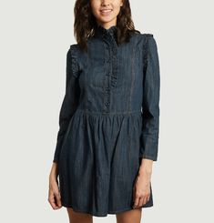Denim dress See by Chloé