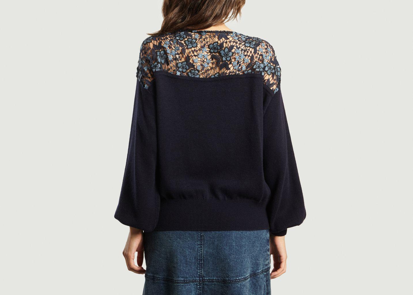 Pull Broderies Fleurs  - See by Chloé