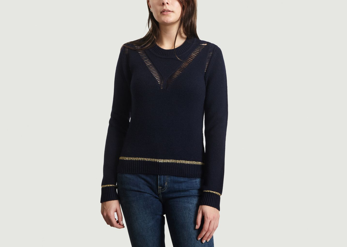 Pull Ajouré Lurex - See by Chloé