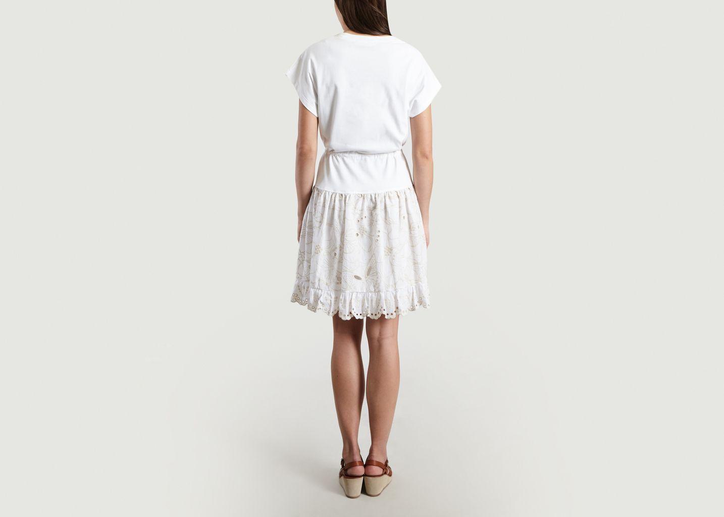 1e7acec49a Broderie Anglaise T-Shirt Dress