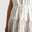 matière Robe T-Shirt A Broderie Anglaise - See by Chloé