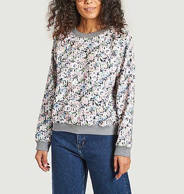 Pullover imprimé floral