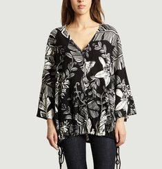 Blouse Imprimé Jungle