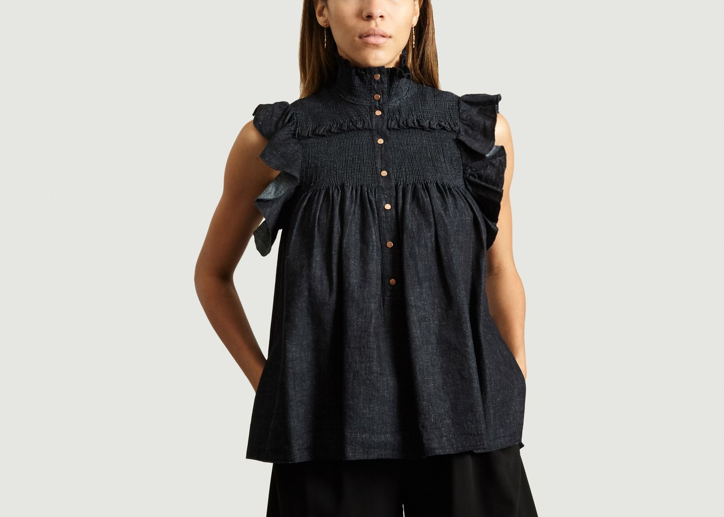 Blouse Sans Manche En Denim - See by Chloé