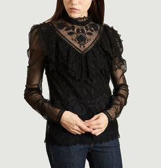 Dentelle Lace Top