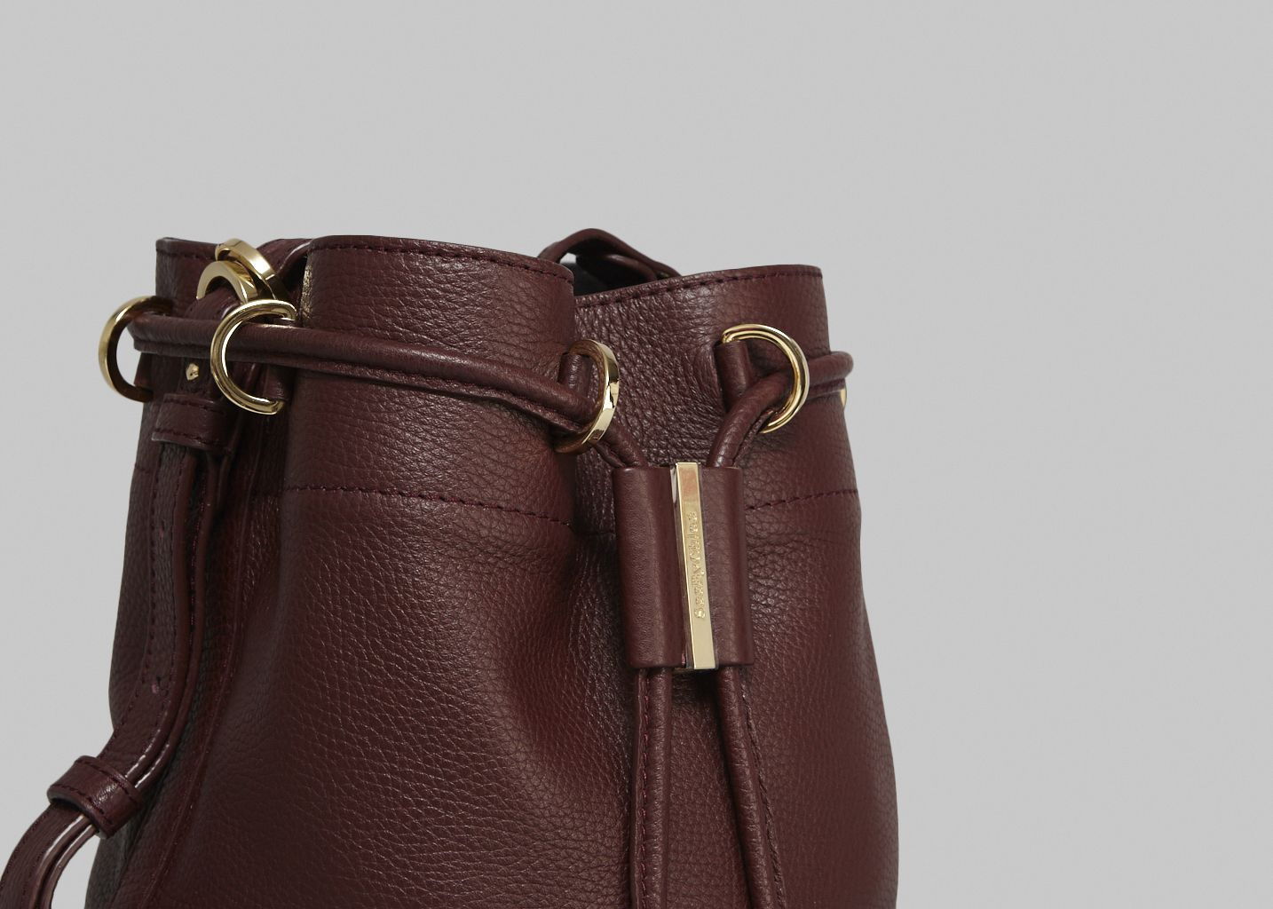 Small Vicki Bucket Bag Burgundy See by Chloé  d490d90b472