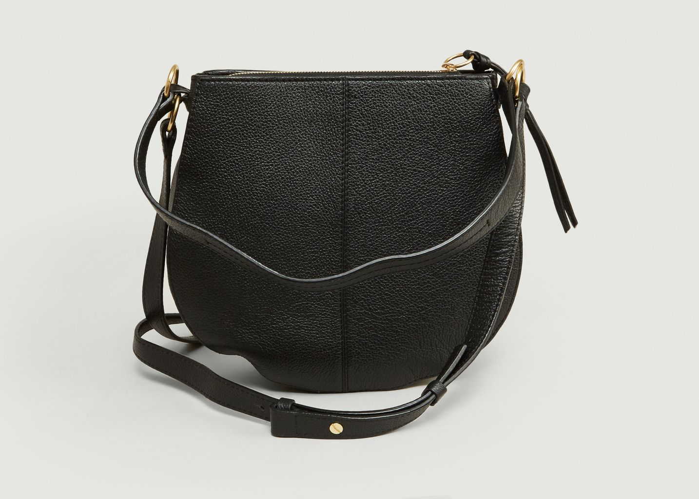 137813475a3c7 Sac Kriss Small Hobo Noir See by Chloé