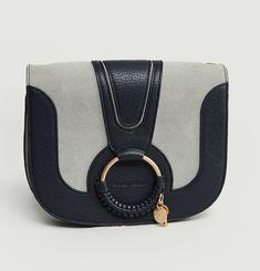 Hana Bi-Material Handbag