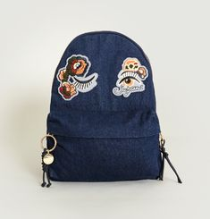 Andy Denim Backpack