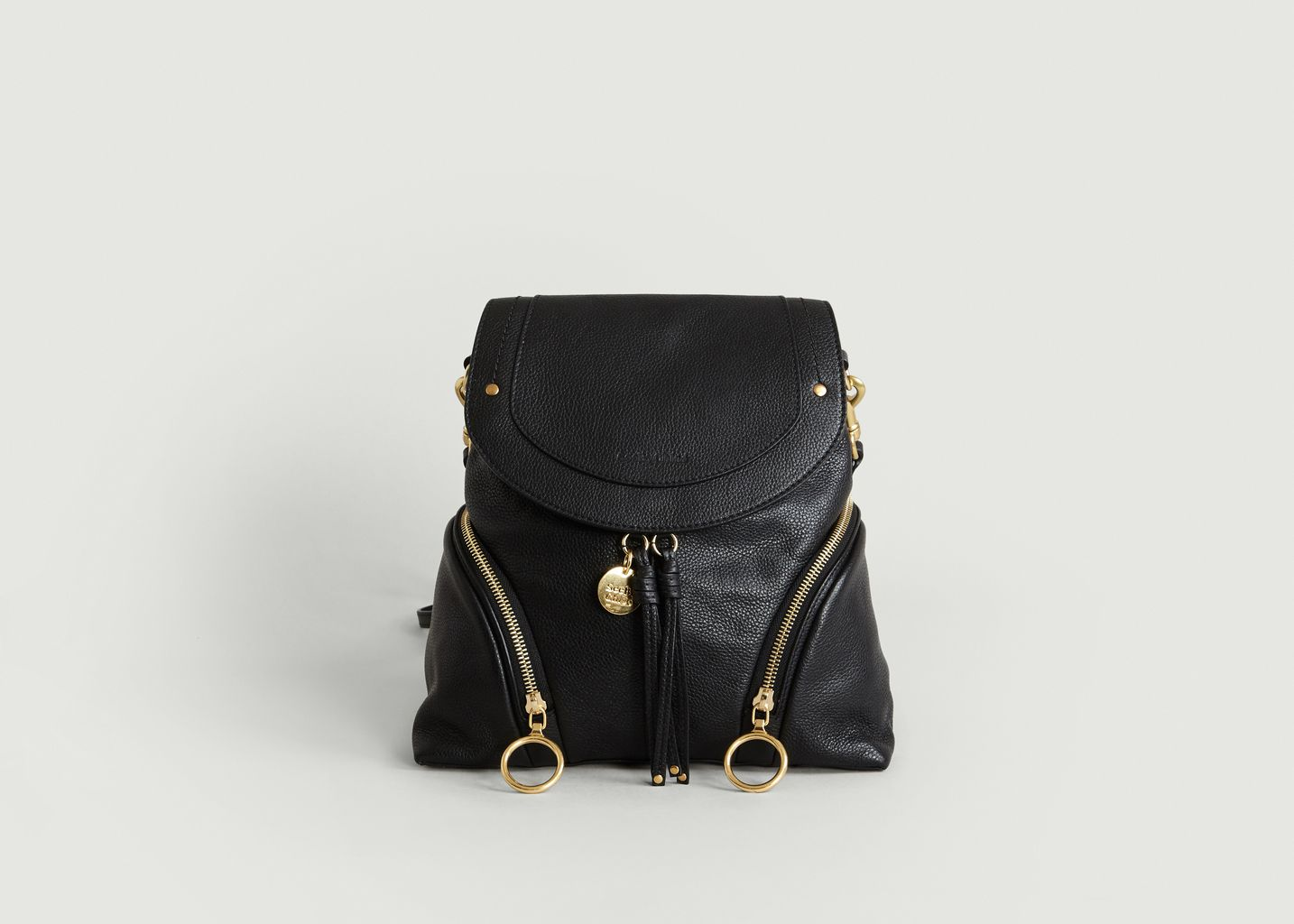 b10d8b6fce63 Olga Backpack Black See by Chloé