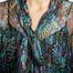 matière Robe en Mousseline de Soie et Lurex - See by Chloé