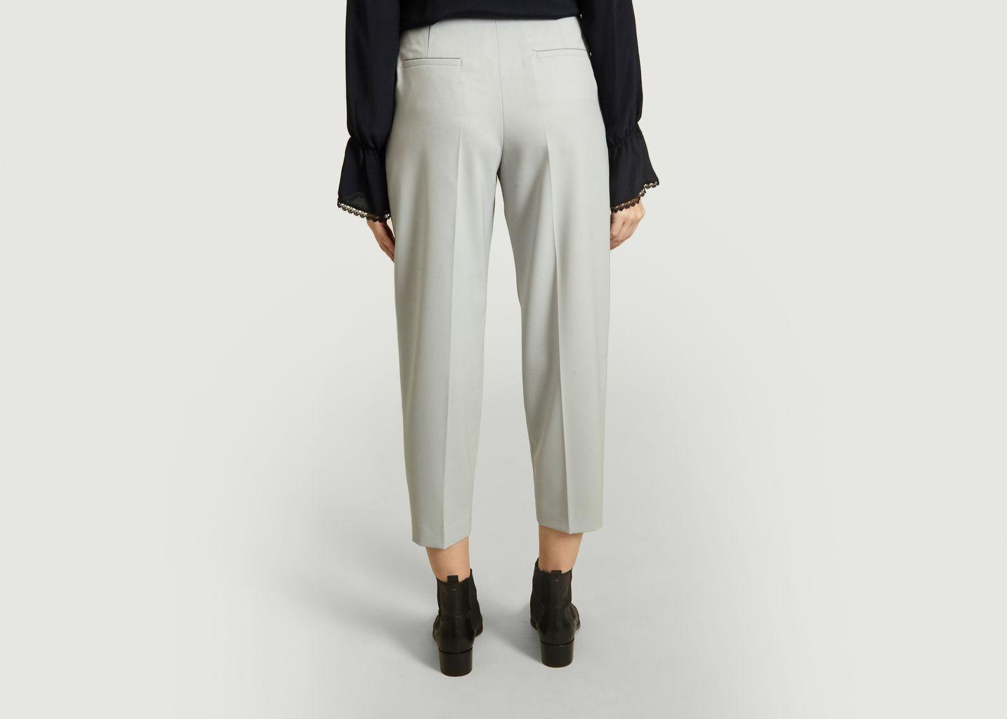 Pantalon à Pinces en Laine Mélangé - See by Chloé