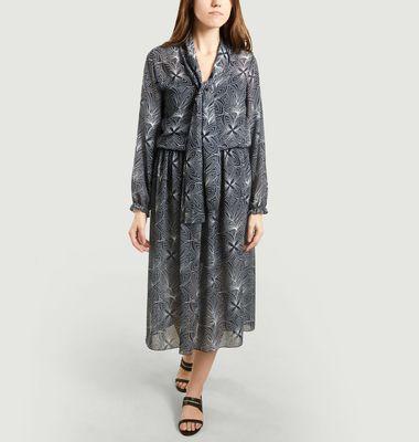 Robe Smockée