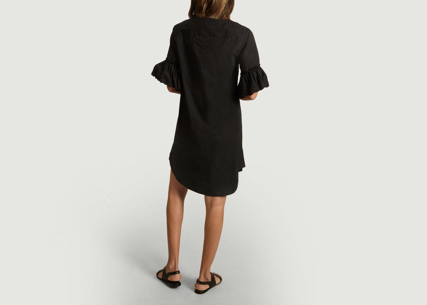 Robe En Coton Avec Manches Volantées - See by Chloé