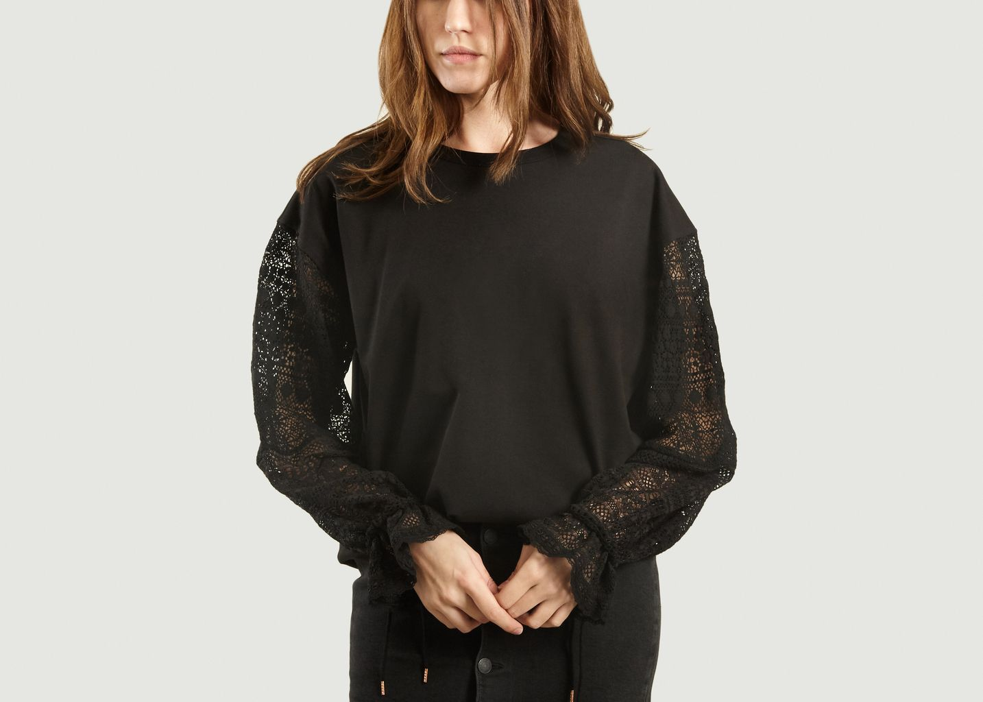 Top Ample Manches Longues Dentelle - See by Chloé