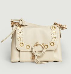 Joan Small Hobo Bag With Eyelets