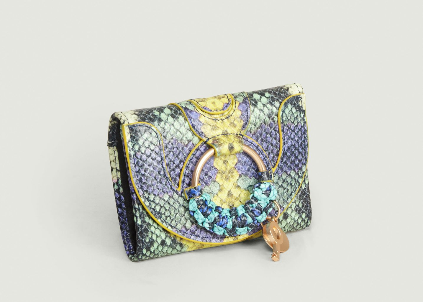 Porte-Monnaie Hana Mini Effet Python - See by Chloé