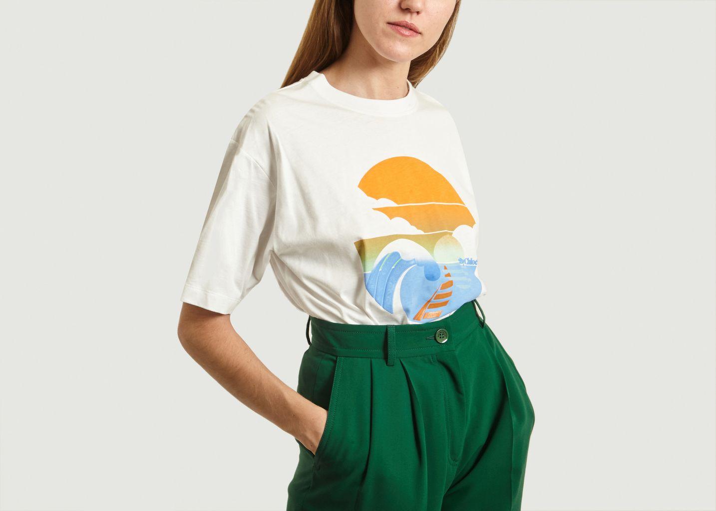 T-shirt Imprimé En Coton - See by Chloé