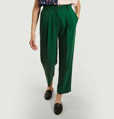 Straight Trousers 7/8e Lenght