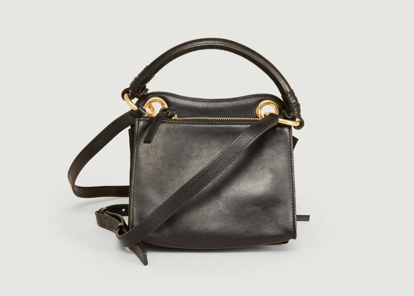 Mini sac Tilda porté épaule cuir et velours vachette - See by Chloé