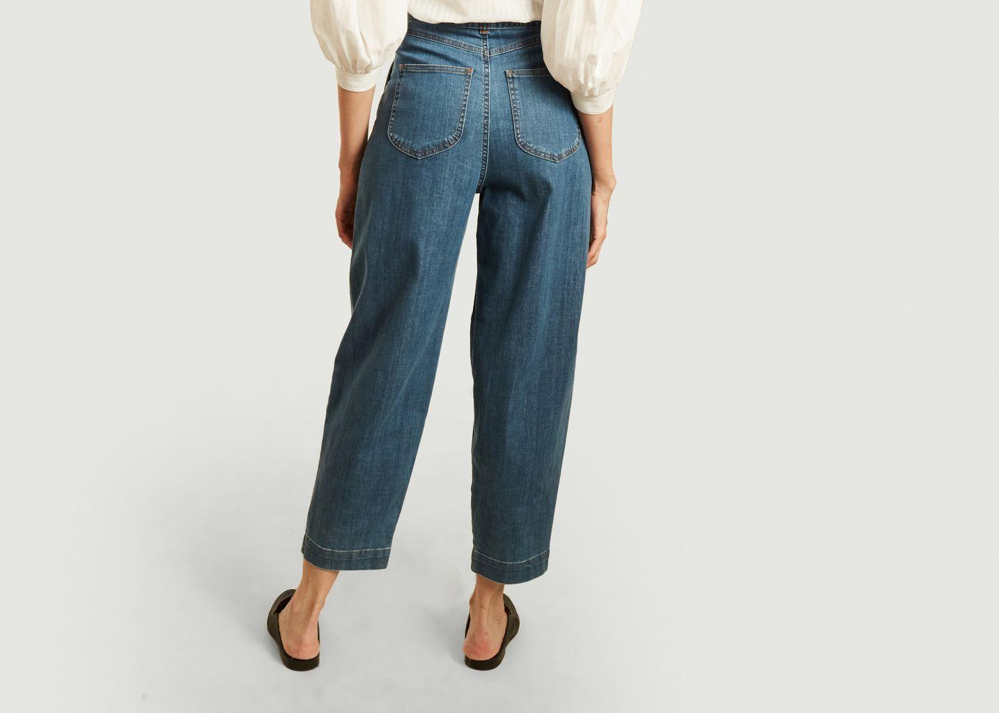 Pantalon ceinturé denim - See by Chloé