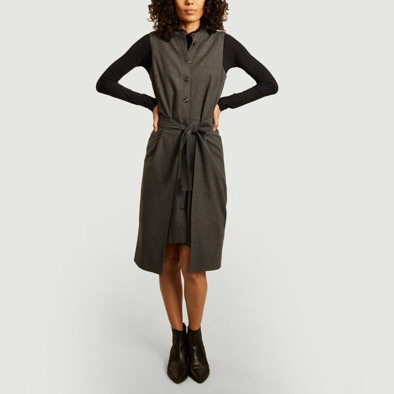 Robe en laine sans manches - See by Chloé