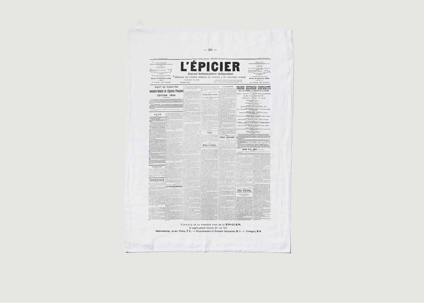 Torchon En Lin Lavé L'Epicerie  - Série Limitée LOUISE