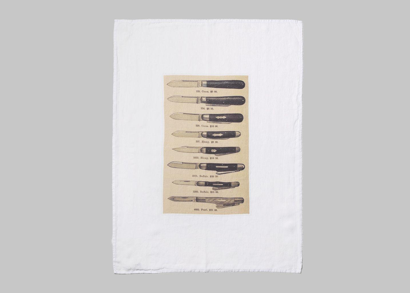 Couteaux Tea Towel - Série Limitée LOUISE