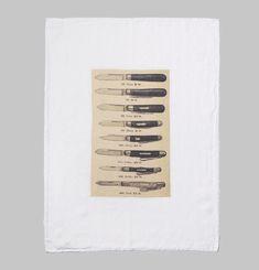 Couteaux Tea Towel
