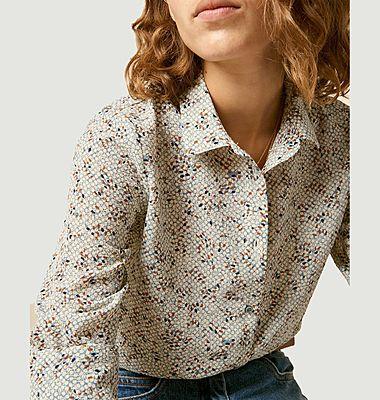 Chemise à micro motif Mimia