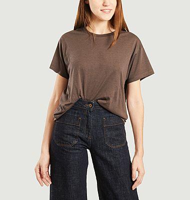 T-shirt en lyocell et coton Tees